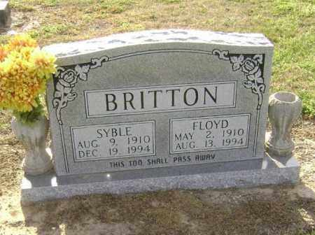 BRITTON, FLOYD - Lawrence County, Arkansas | FLOYD BRITTON - Arkansas Gravestone Photos