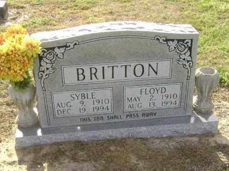 BRITTON, FLOYD - Lawrence County, Arkansas   FLOYD BRITTON - Arkansas Gravestone Photos