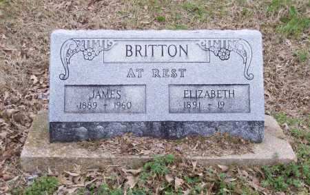 BRITTON, EXIE ELIZABETH - Lawrence County, Arkansas | EXIE ELIZABETH BRITTON - Arkansas Gravestone Photos
