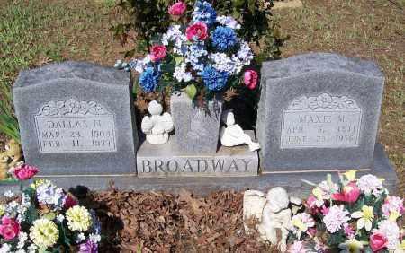 BROADWAY, MAXIE MAE - Lawrence County, Arkansas | MAXIE MAE BROADWAY - Arkansas Gravestone Photos