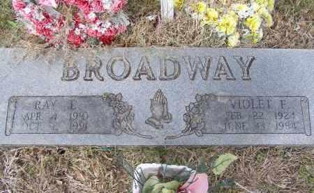 BROADWAY, RAY E. - Lawrence County, Arkansas | RAY E. BROADWAY - Arkansas Gravestone Photos