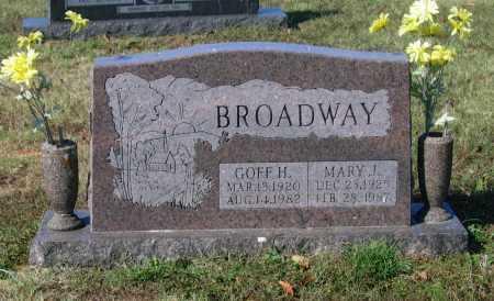 BROADWAY, GOFF HARMON - Lawrence County, Arkansas | GOFF HARMON BROADWAY - Arkansas Gravestone Photos