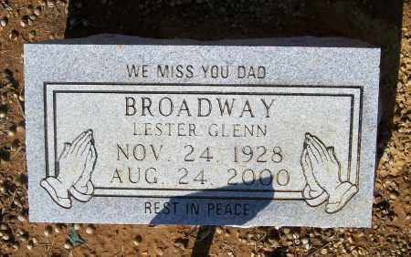 BROADWAY, LESTER GLENN - Lawrence County, Arkansas | LESTER GLENN BROADWAY - Arkansas Gravestone Photos