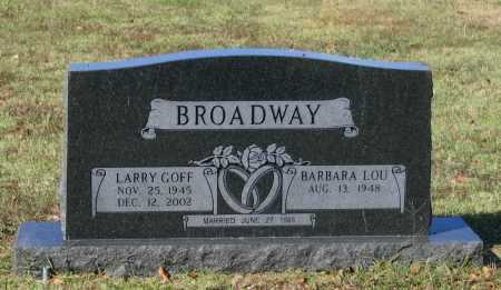 BROADWAY, LARRY GOFF - Lawrence County, Arkansas | LARRY GOFF BROADWAY - Arkansas Gravestone Photos