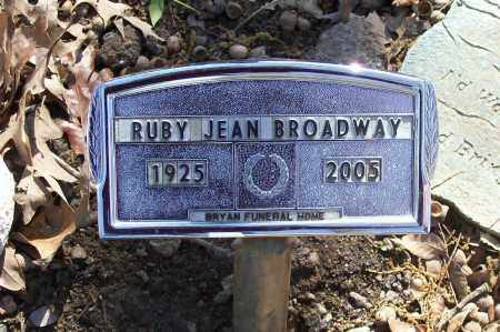 BROADWAY, RUBY JEAN NOTH HILL - Lawrence County, Arkansas | RUBY JEAN NOTH HILL BROADWAY - Arkansas Gravestone Photos