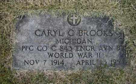 BROOKS (VETERAN WWII), CARYL C. - Lawrence County, Arkansas | CARYL C. BROOKS (VETERAN WWII) - Arkansas Gravestone Photos