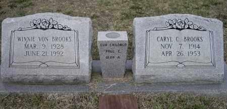 BROOKS, WINNIE VON - Lawrence County, Arkansas | WINNIE VON BROOKS - Arkansas Gravestone Photos