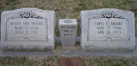 CAMERON BROOKS, WINNIE VON - Lawrence County, Arkansas | WINNIE VON CAMERON BROOKS - Arkansas Gravestone Photos