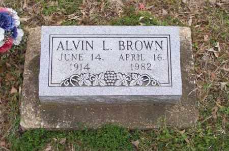 BROWN, ALVIN LORENZA - Lawrence County, Arkansas | ALVIN LORENZA BROWN - Arkansas Gravestone Photos
