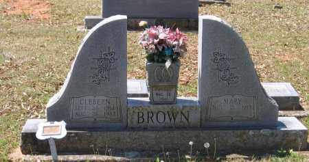 BROWN, CLEBERN - Lawrence County, Arkansas | CLEBERN BROWN - Arkansas Gravestone Photos