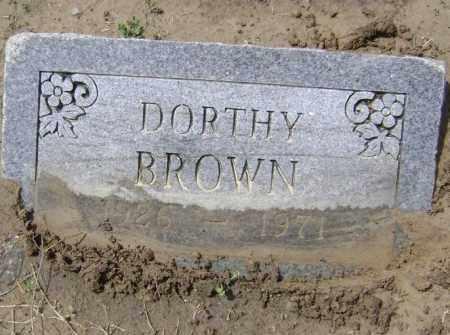 BROWN, DOROTHY JUANITA - Lawrence County, Arkansas | DOROTHY JUANITA BROWN - Arkansas Gravestone Photos