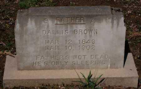 BROWN, GEORGE M. DALLIS - Lawrence County, Arkansas | GEORGE M. DALLIS BROWN - Arkansas Gravestone Photos