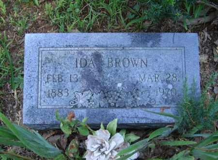 BROWN, IDA - Lawrence County, Arkansas | IDA BROWN - Arkansas Gravestone Photos