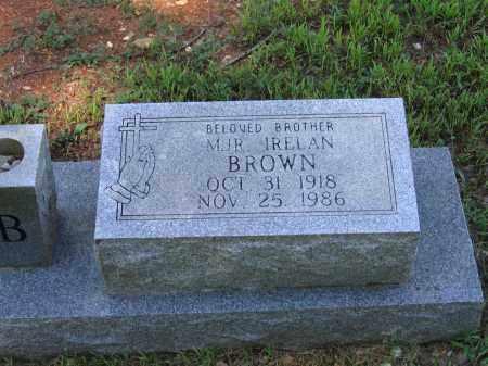 BROWN, IRELAN - Lawrence County, Arkansas | IRELAN BROWN - Arkansas Gravestone Photos