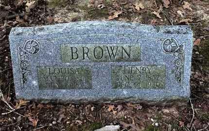 BROWN, HARRIETT LOUISA - Lawrence County, Arkansas   HARRIETT LOUISA BROWN - Arkansas Gravestone Photos