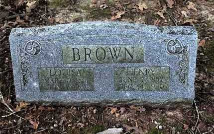BROWN, HENRY - Lawrence County, Arkansas | HENRY BROWN - Arkansas Gravestone Photos