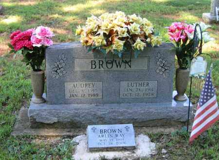 BROWN, LUTHER - Lawrence County, Arkansas | LUTHER BROWN - Arkansas Gravestone Photos