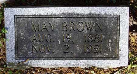 BROWN, MAY - Lawrence County, Arkansas | MAY BROWN - Arkansas Gravestone Photos