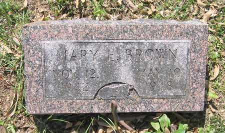 BROWN, MARY E. - Lawrence County, Arkansas   MARY E. BROWN - Arkansas Gravestone Photos
