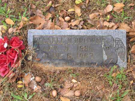 BROWN, RUSSELL DEAN - Lawrence County, Arkansas | RUSSELL DEAN BROWN - Arkansas Gravestone Photos