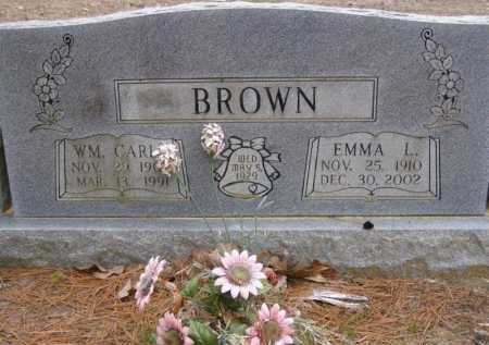 CLEMENTS BROWN, EMMA LULU - Lawrence County, Arkansas | EMMA LULU CLEMENTS BROWN - Arkansas Gravestone Photos