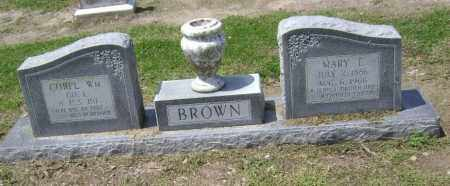 BROWN (VETERAN WWI), WILLIAM - Lawrence County, Arkansas | WILLIAM BROWN (VETERAN WWI) - Arkansas Gravestone Photos