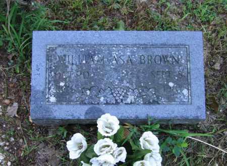 BROWN, WILLIAM ASA - Lawrence County, Arkansas   WILLIAM ASA BROWN - Arkansas Gravestone Photos