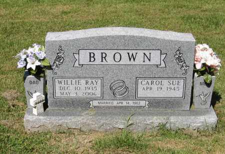 BROWN, WILLIE RAY - Lawrence County, Arkansas | WILLIE RAY BROWN - Arkansas Gravestone Photos