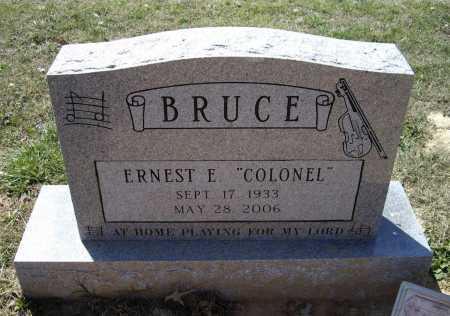 "BRUCE (VETERAN WWII), ERNEST ELLSWORTH ""COLONEL"" - Lawrence County, Arkansas   ERNEST ELLSWORTH ""COLONEL"" BRUCE (VETERAN WWII) - Arkansas Gravestone Photos"