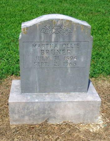 BRUNER, MARTHA OLLIE - Lawrence County, Arkansas | MARTHA OLLIE BRUNER - Arkansas Gravestone Photos