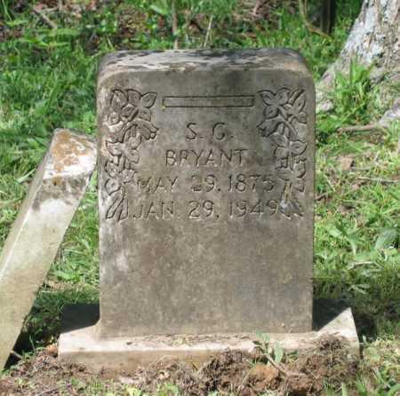 "BRYANT, SAMUEL GREEN ""S. G."" - Lawrence County, Arkansas | SAMUEL GREEN ""S. G."" BRYANT - Arkansas Gravestone Photos"