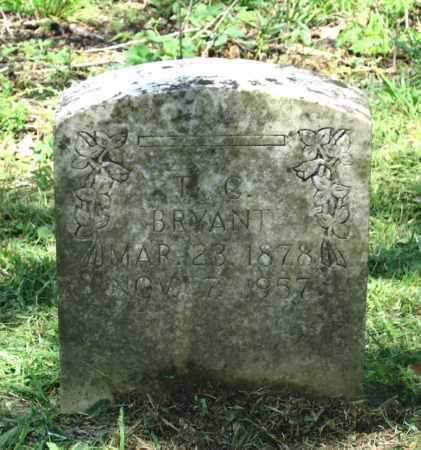 """BRYANT, THOMAS CALVIN """"T. C."""" - Lawrence County, Arkansas   THOMAS CALVIN """"T. C."""" BRYANT - Arkansas Gravestone Photos"""