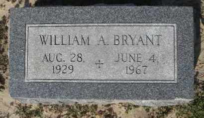 BRYANT, WILLIAM ALEXANDER - Lawrence County, Arkansas | WILLIAM ALEXANDER BRYANT - Arkansas Gravestone Photos