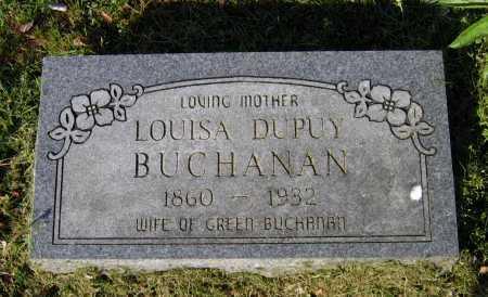 DUPUY BUCHANAN, LOUISA - Lawrence County, Arkansas | LOUISA DUPUY BUCHANAN - Arkansas Gravestone Photos