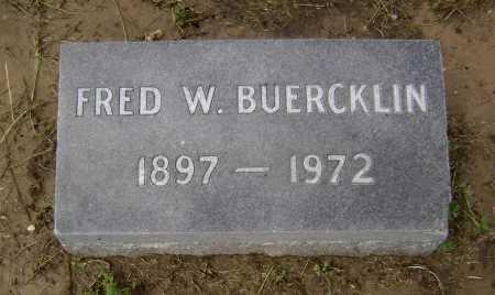 BUERCKLIN JR, FRED W. - Lawrence County, Arkansas | FRED W. BUERCKLIN JR - Arkansas Gravestone Photos