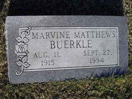 BUERKLE, MARY MAVINE - Lawrence County, Arkansas | MARY MAVINE BUERKLE - Arkansas Gravestone Photos