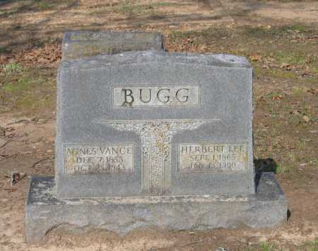 BUGG, AGNES VANCE WILLIAMS - Lawrence County, Arkansas | AGNES VANCE WILLIAMS BUGG - Arkansas Gravestone Photos