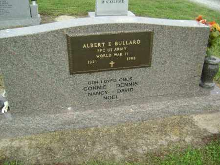 BULLARD (VETERAN WWII), ALBERT ELTON - Lawrence County, Arkansas   ALBERT ELTON BULLARD (VETERAN WWII) - Arkansas Gravestone Photos