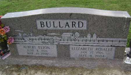 "BULLARD, ELIZABETH ROSALEE ""ROSIE"" - Lawrence County, Arkansas | ELIZABETH ROSALEE ""ROSIE"" BULLARD - Arkansas Gravestone Photos"