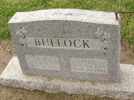 BULLOCK, L. J - Lawrence County, Arkansas | L. J BULLOCK - Arkansas Gravestone Photos