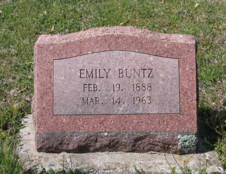 BUNTZ, EMILY - Lawrence County, Arkansas | EMILY BUNTZ - Arkansas Gravestone Photos