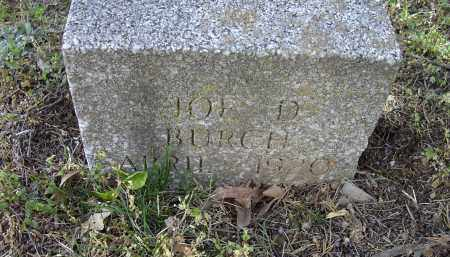 BURCH, JOE D. - Lawrence County, Arkansas | JOE D. BURCH - Arkansas Gravestone Photos