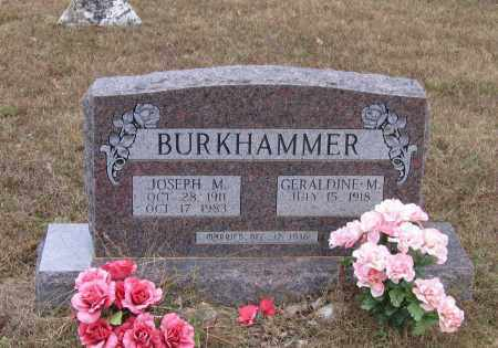 BURKHAMMER, GERALDINE MARY - Lawrence County, Arkansas | GERALDINE MARY BURKHAMMER - Arkansas Gravestone Photos