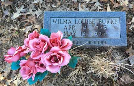 BURKS, WILMA LOUISE - Lawrence County, Arkansas | WILMA LOUISE BURKS - Arkansas Gravestone Photos