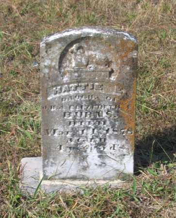 BURNS, HATTIE E. - Lawrence County, Arkansas | HATTIE E. BURNS - Arkansas Gravestone Photos