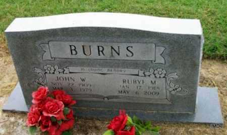 BURNS, RUBYE MAE - Lawrence County, Arkansas | RUBYE MAE BURNS - Arkansas Gravestone Photos