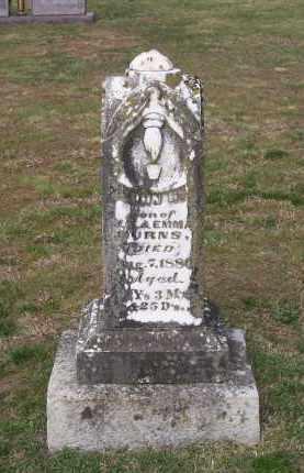 BURNS, JOHN HENRY - Lawrence County, Arkansas | JOHN HENRY BURNS - Arkansas Gravestone Photos