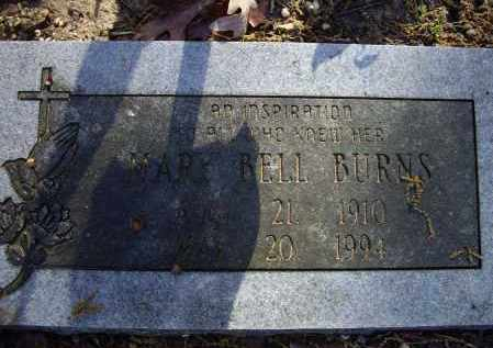 BLEVINS BURNS, MARY BELL - Lawrence County, Arkansas | MARY BELL BLEVINS BURNS - Arkansas Gravestone Photos