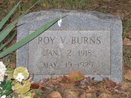 BURNS, ROY V. - Lawrence County, Arkansas | ROY V. BURNS - Arkansas Gravestone Photos