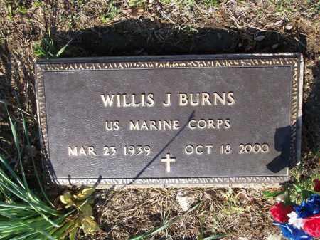 "BURNS (VETERAN), WILLIS JERRELL ""TIGER"" - Lawrence County, Arkansas | WILLIS JERRELL ""TIGER"" BURNS (VETERAN) - Arkansas Gravestone Photos"